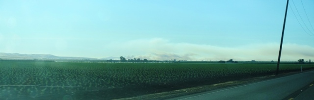 Central Valley, Altamont Fire, Wildfire, Smoke