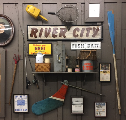 Sacramento Cracker Barrel, Wall items, River City