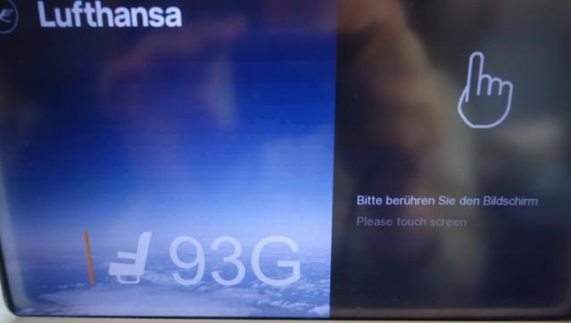93G, A380, Lufthansa, Back of the Plane