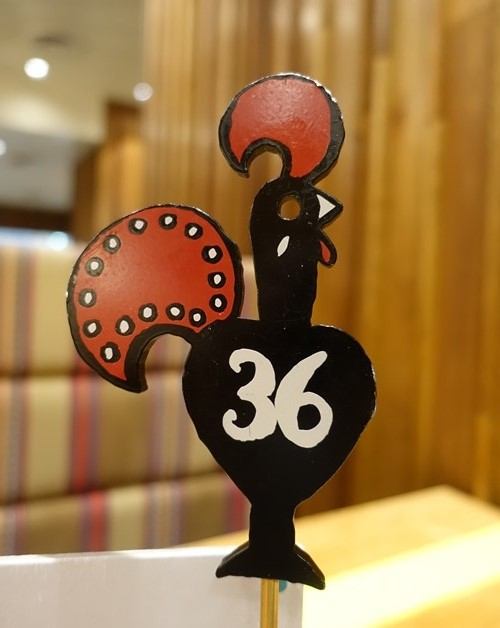 Table Number, Chicken, Nando's, Australia