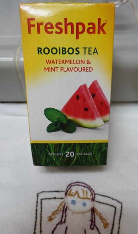 Rooibos tea, Watermelon, Mint, tea, red tea