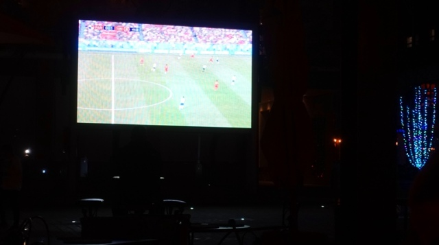 Outdoor TV, World Cup, South Africa 2018