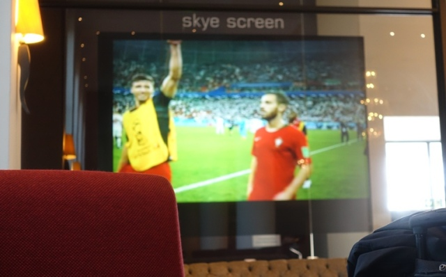 Hotel Big Screen, South Africa, World Cup, Soccer
