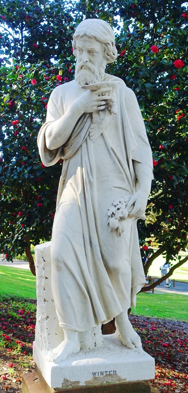 Royal Botanic Gardens, Sydney, Four Seasons, Winter Statue