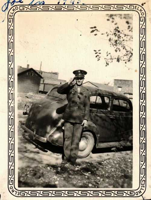 Serviceman, Uncle, 1945, Iowa