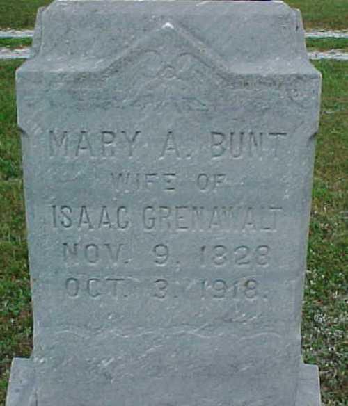 Mary Bunt, Eagleville, Missouri