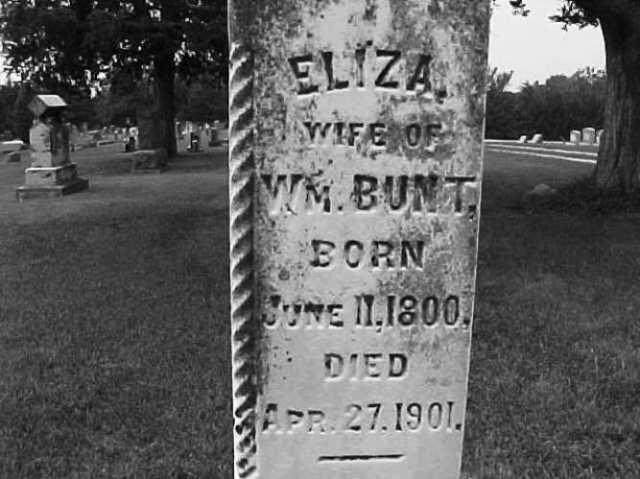 Eliza Turner Bunt, Eagleville, Missouri