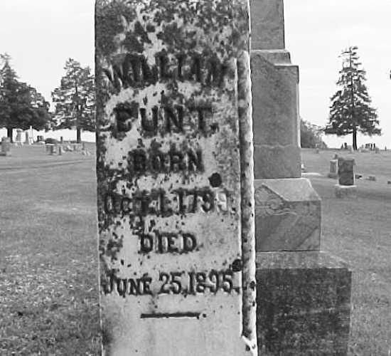 William Bunt Grave, Eagleville, Missouri