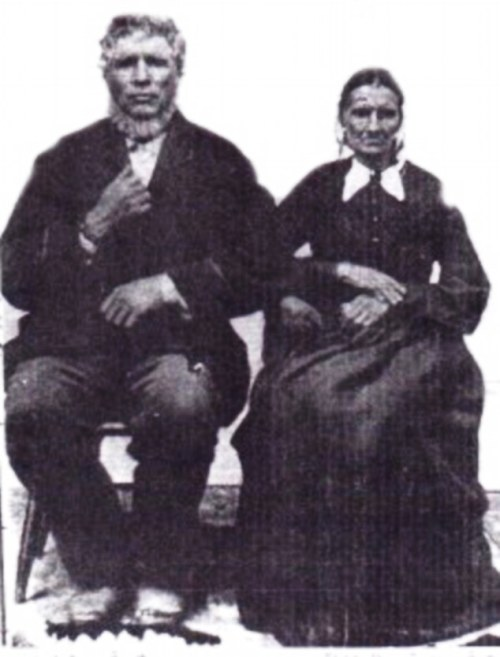 William and Eliza Bunt, Eagleville, Missouri, 4th great grandparents
