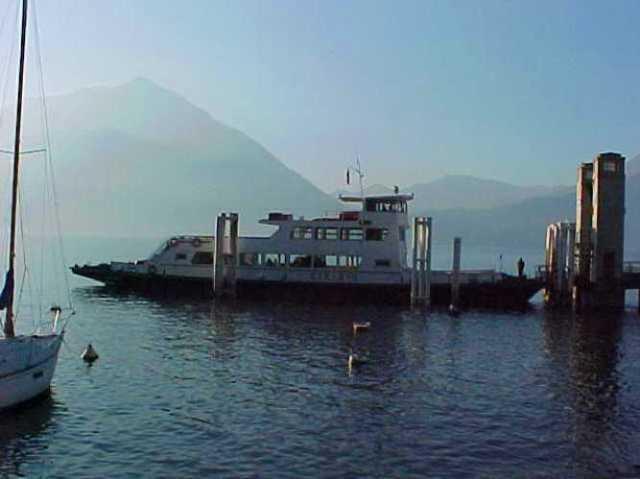 Car Ferry, Lake Como, Italy, Winter