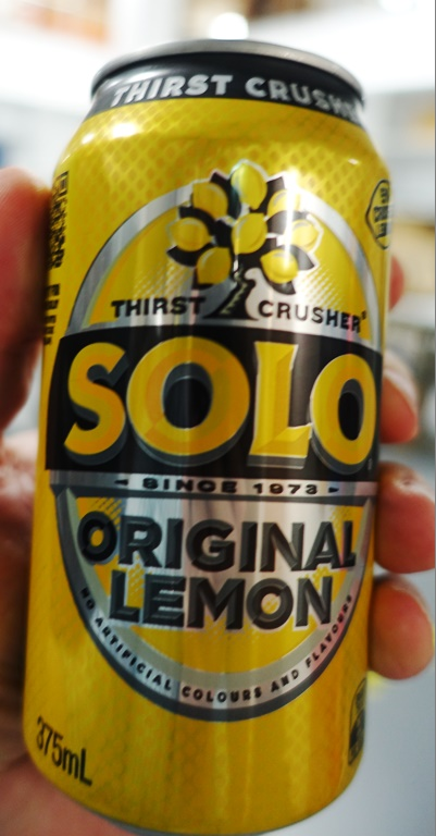 Solo, Lemon Soft Drink, Australia, Drinks Down Under