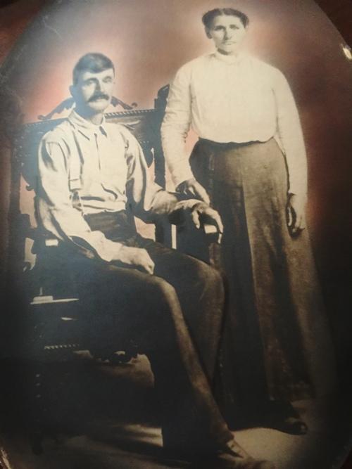 Alfred Van Duzor, Henrietta Shafer, 2nd Great Grand parents, ancestors