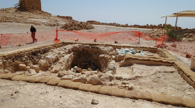 Masada, Renewed Excavation, Stiebel, Archaeology