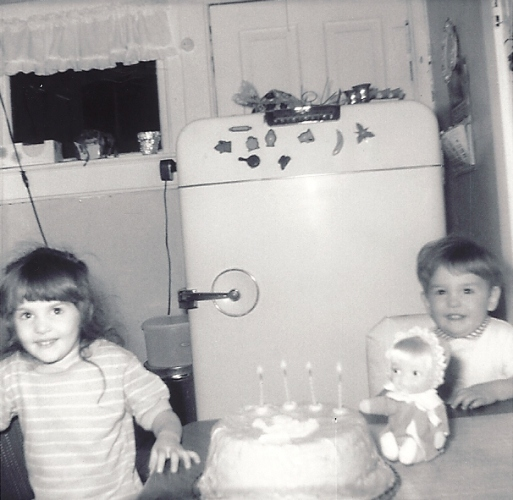 Birthday Cake, 4th Birthday, Kitchen