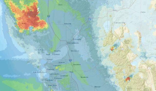 Bay Area Smoke, Delta Breeze, shifting winds