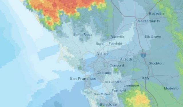 Delta Breeze, California Fires, Smoke Map, Smoky Day