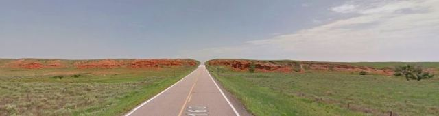 Red Hills, Highway 160, Ashland, Kansas, Clark County