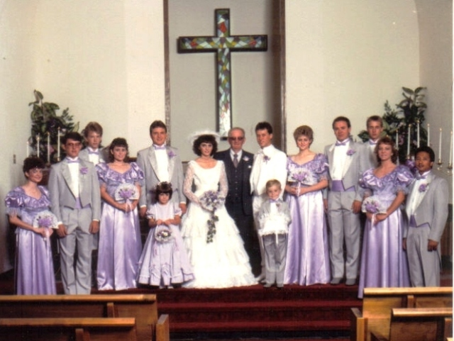 Wedding, Ottumwa, Iowa, Sister's Wedding, Groomsman