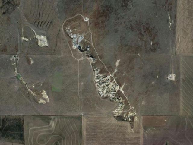 Kansas Badlands, Castle Rock, Rock Formations, Geology