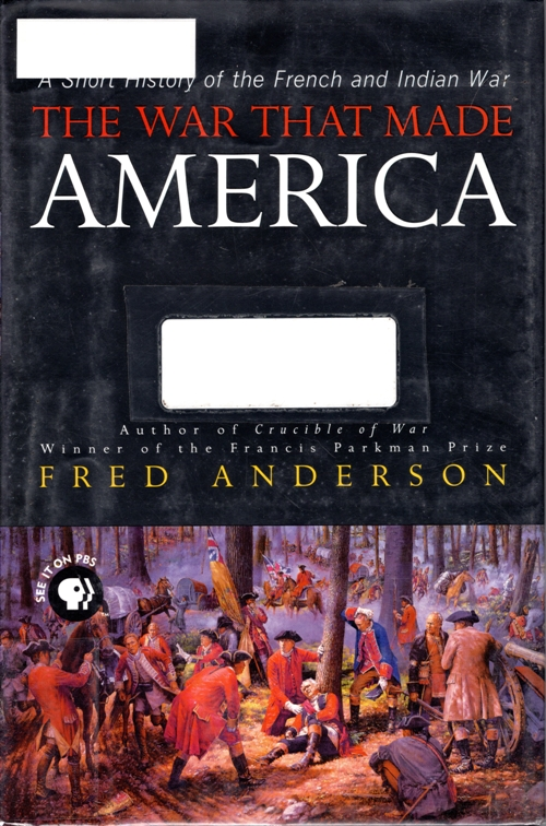 French and Indian War, America, Fred Anderson