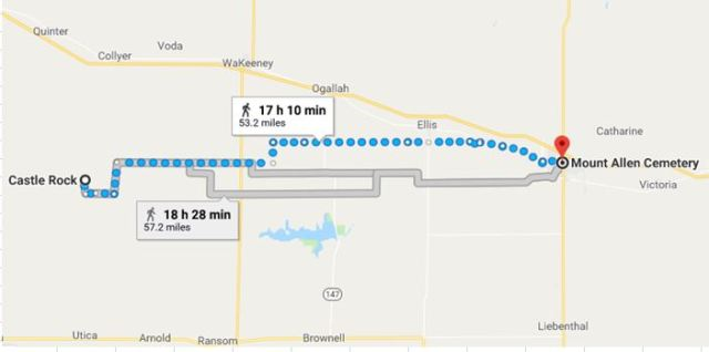 Virtual Hike To Hays Kansas Braman S Wanderings