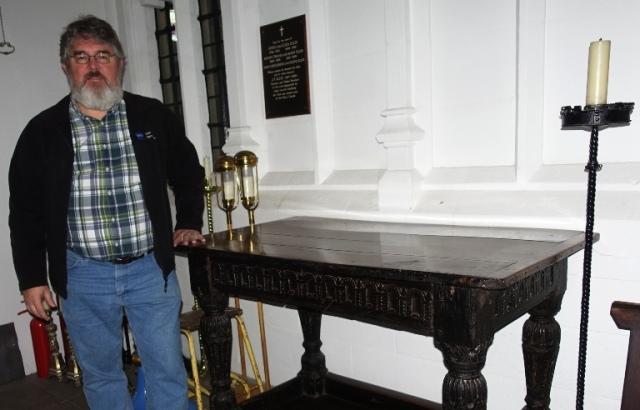 Worksop Priory, Communion table, Altar, Richard Barnard