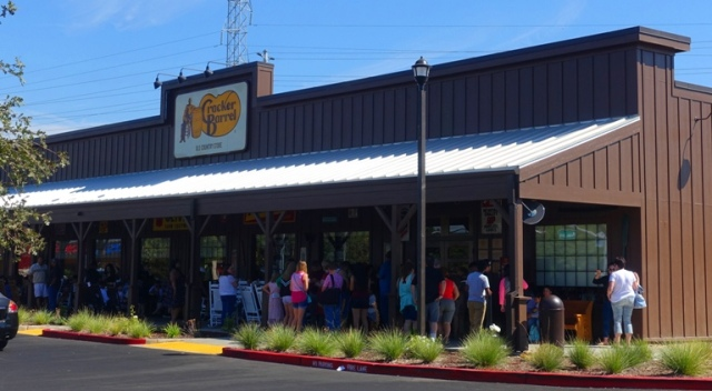 Sacramento Cracker Barrel, Long Wait, Road Trip