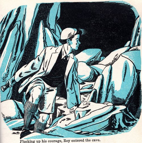 The Secret of the Cave, Illustrations, John Atterbury