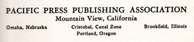 Pacific Press Publishing Association, Seventh Day Adventist, Uncle Arthur