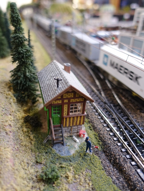 Train Control, HO Railroad, Model Railroad, Switch Hut