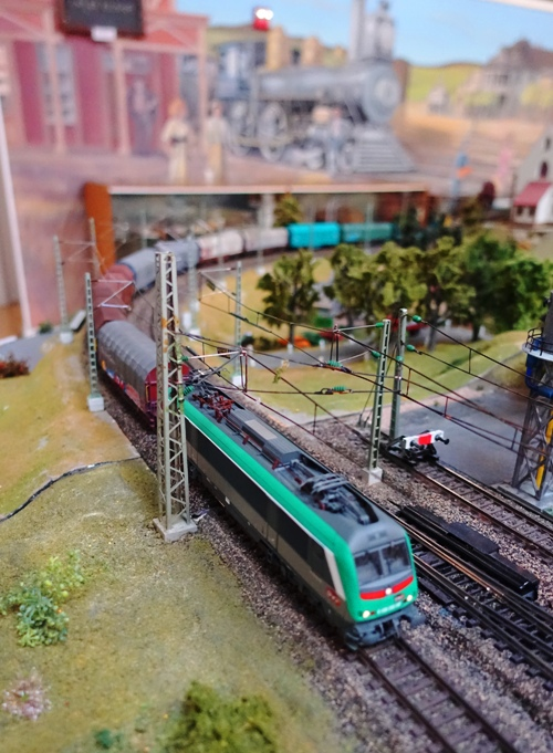 Model Trains, ETE, Modular Layout