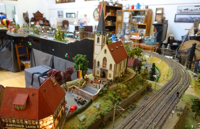 Church module, ETE, Model Trains