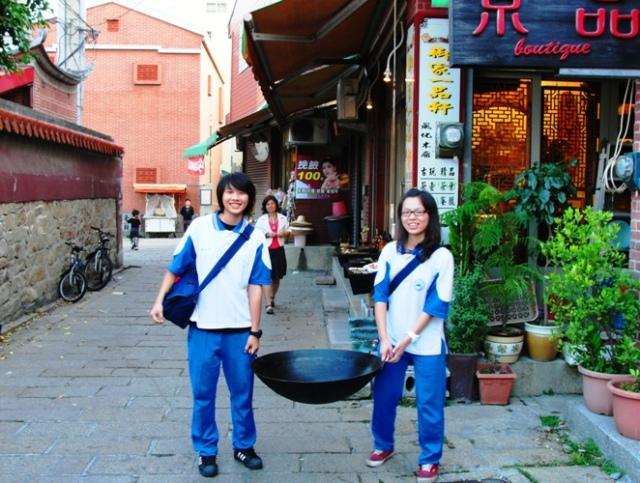 Wok, Taipei, Taiwan, Cooking, Large Wok