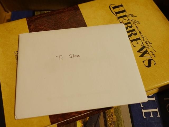 Thank You card, Thank You Box