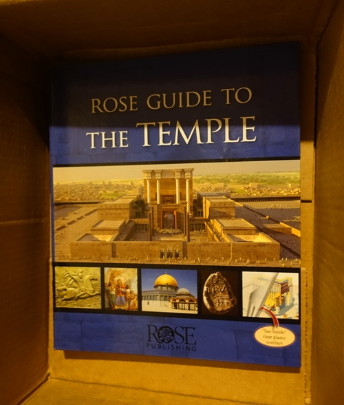 Rose Guide to the Temple, Thank You Gift