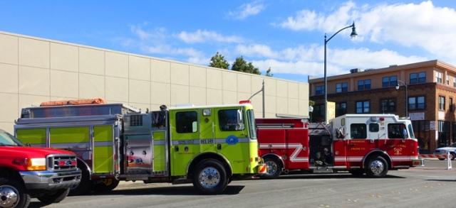 Tracy, Fire Trucks, National Fallen Firefighter Memorial Service