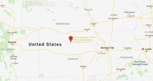 Geographic Center of the United States, Lebanon, Kansas, Smith County