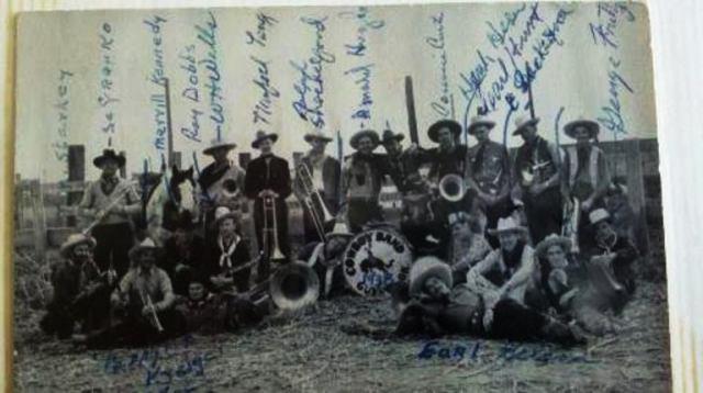 Guymon, Oklahoma, Panhandle, Cowboys, 1938