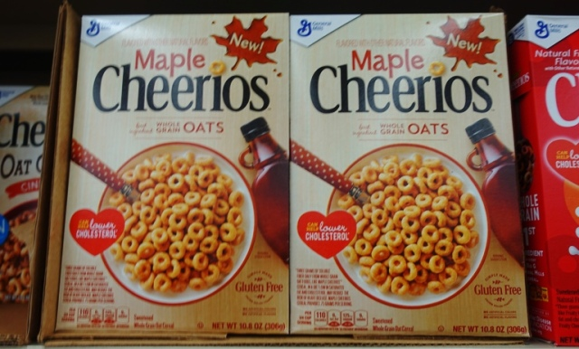 Maple Cheerios, Seasonal Flavors, Cheerios, Oat Cereal