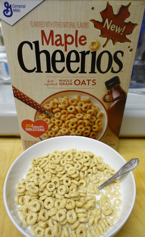 Maple Cheerios, Breakfast for Dinner, Flavors