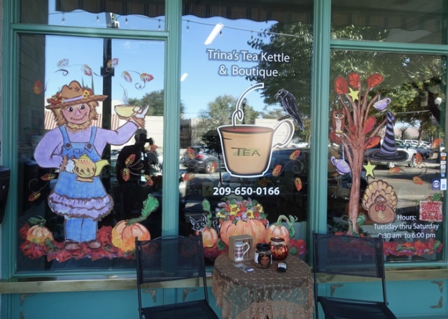 Trina's Tea Kettle, Tea Shop, Tracy, California