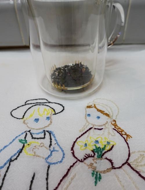 Tea, waiting for hot water, Sophia Blend