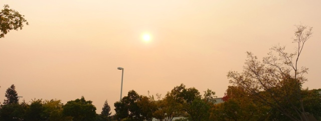 bad air quality, fires, california, bay area