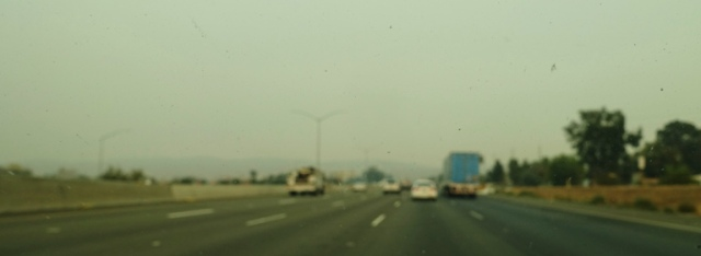 bad air quality, smoky air, Altamont