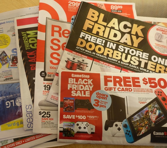 Black Friday Ads, Thanksgiving