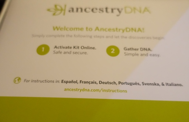 Ancestry DNA Kit, Ancestry, Genealogy