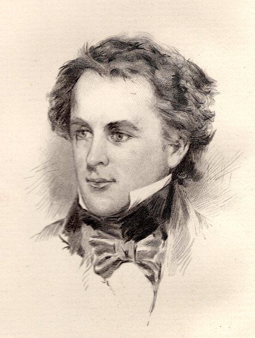Nathaniel Hawthorne, Sophia Peabody, Love at first sight