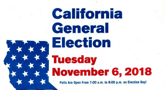 California Election, Voting, Daylight Saving time