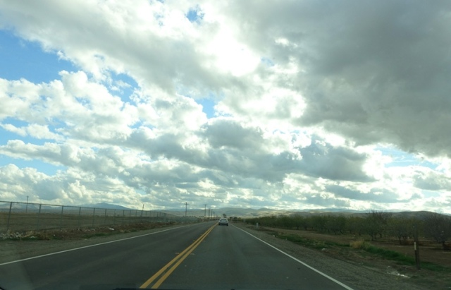 Thanksgiving, Rain Clouds, Cloudy Sky, Ag Country, Central Valley