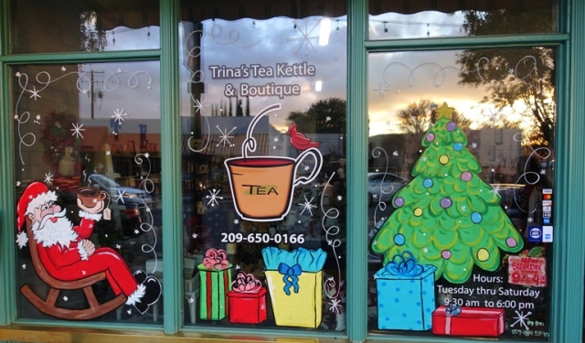 Trina's Tea Kettle, Tracy, California, Downtown, Small Business Saturday